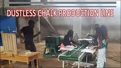 Lowest Cost Dustless Calcium Carbonate Chalk Production Line