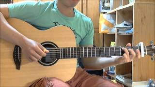 阿桑-一直很安靜 木吉他演奏