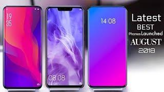 Top 5 Upcoming Best Smartphones in August 2018 !