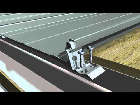 Installation principle RIB-ROOF Speed 500 with standard clips on double-layer Z-profiles - YouTube & Installation principle RIB-ROOF Speed 500 with standard clips on ... memphite.com