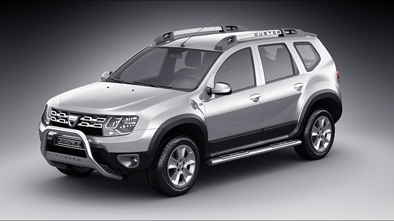 dacia duster 2014 3d model youtube. Black Bedroom Furniture Sets. Home Design Ideas