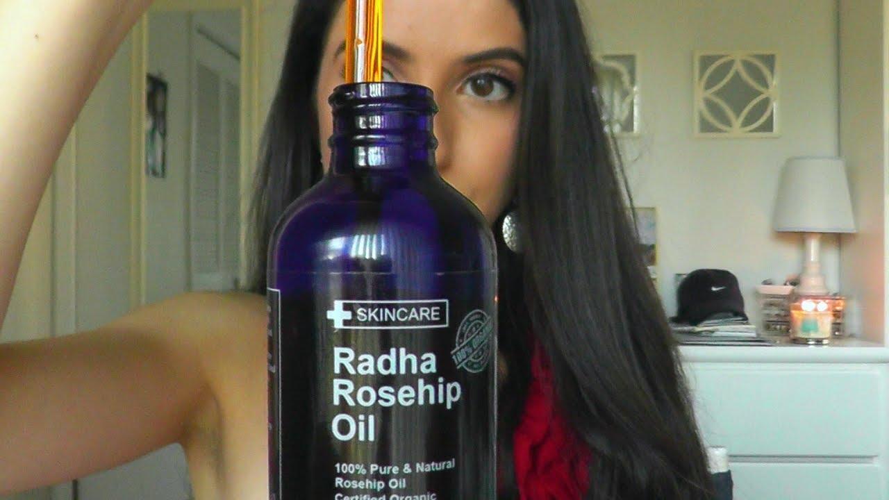 Radha Rosehip Oil Reveiw| Benefits of ROSEHIP OIL