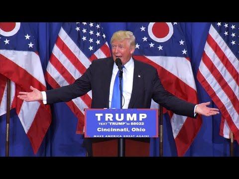 Full Video: Trump tries to explain Star of David tweet, hints at Gingrich VP