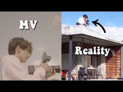 BTS 'LIFE GOES ON' MV vs REALITY