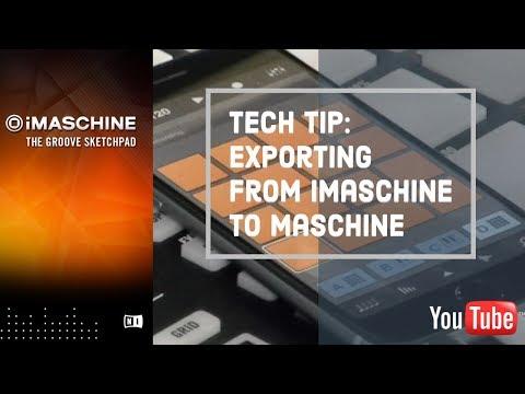 Export from iMaschine – P303 Music Blog