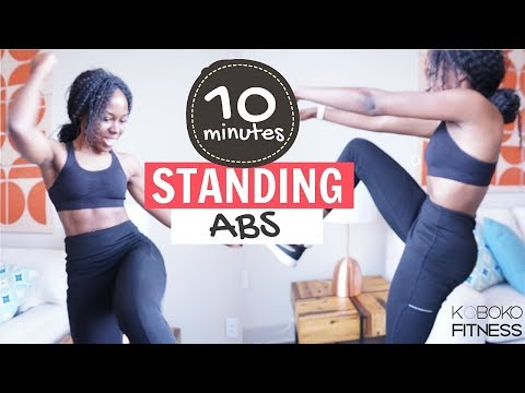 STANDING ABS WORKOUT | Home Workout