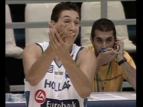 2005 Eurobasket first round Greece-Bosnia(plus post game)