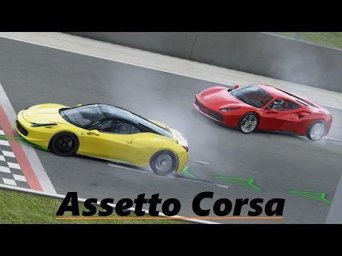 Assetto Corsa - Ferrari's at Silverstone GP |