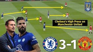 Giroud Helps Lampard Expose Solskjaer's Tactics   Chelsea vs Man United 3-1   Tactical Analysis