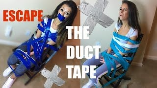 ESCAPE THE DUCT TAPE CHALLENGE!