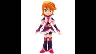 Pretty Cure Cure Dolls (Cure Black-Cure Beauty including surprise figuring)