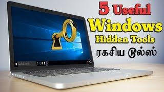 5 Useful windows hidden Secret tools   Windows Tutorial Tamil