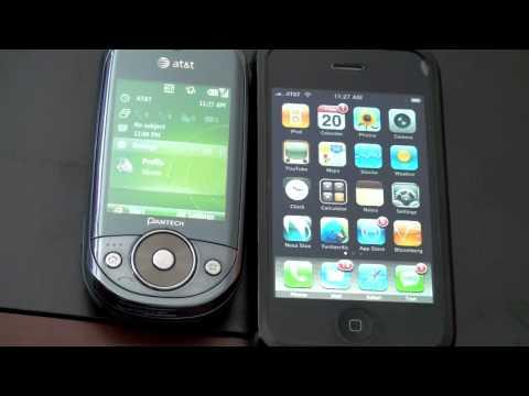 Windows Mobile 6.1 (Standard) v. iPhone