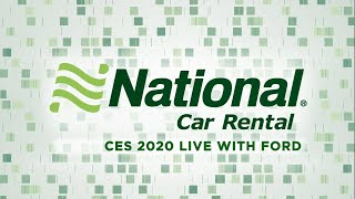 National Live at CES 2020 – Ford Motor Company