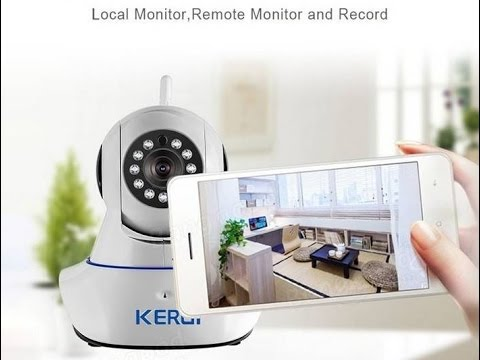 how to connect kerui camera to pc