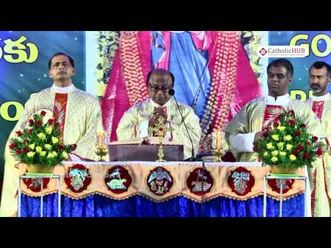 """""""ANNUAL FEAST"""" Naveena Day 2 from Shrine of Our Lady of Health, Khairtabad, Hyd, Telangana , INDIA"""