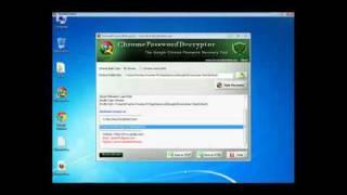 Recovering Chrome Passwords using Chrome Password Decryptor
