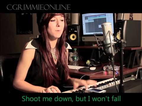Titanium(DavidGuetta&Sia) - Christina Grimmie - Lyrics - MP3 DL