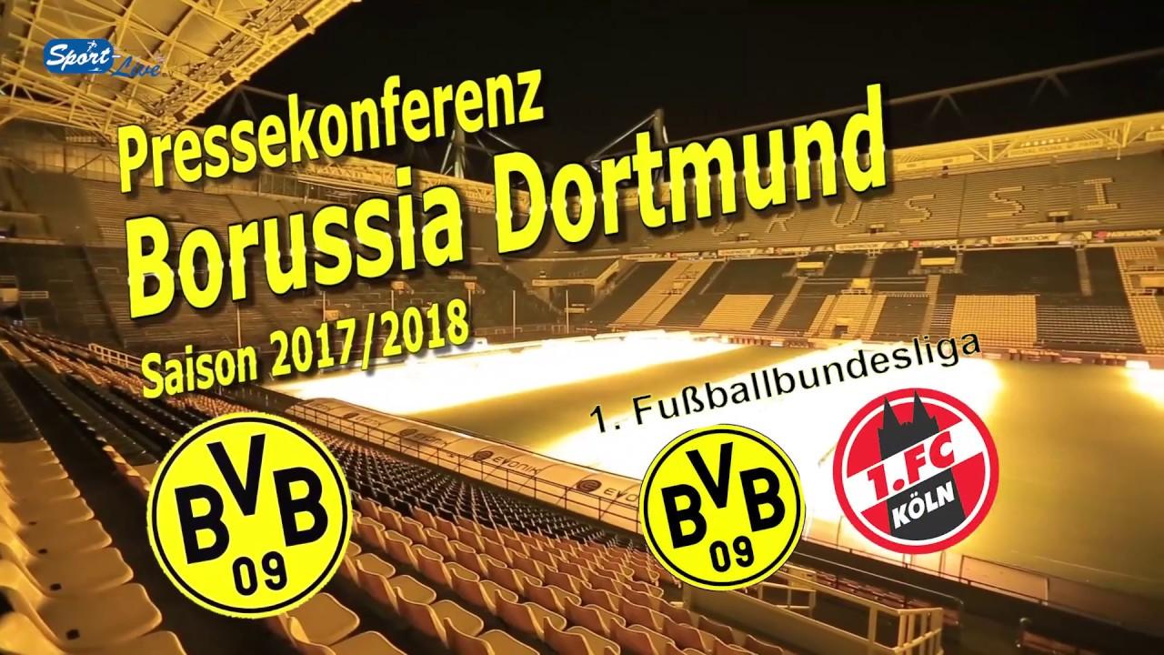 Borussia Dortmund - 1. FC Köln: Pk mit Peter Stöger und Peter Bosz