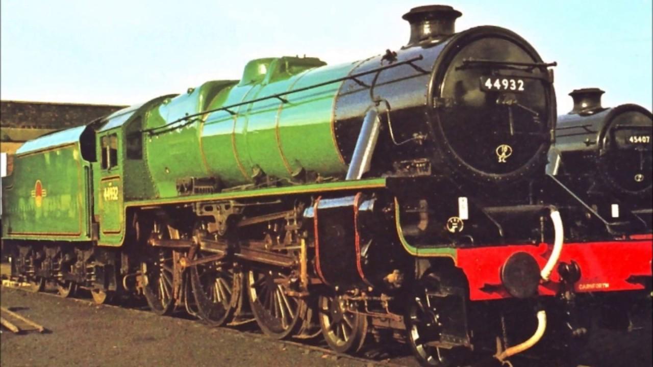 44932 ~ A Very Green 'Black 5'