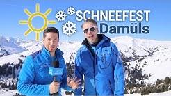 Sonnenschein und reichlich Schnee in Damüls - Regional-Wetter Vorarlberg 22.03.2019