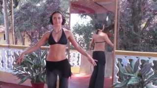 Видео-уроки с Катей Jiva (sacret tribe). Урок #3: Бедра (тряска и круги)