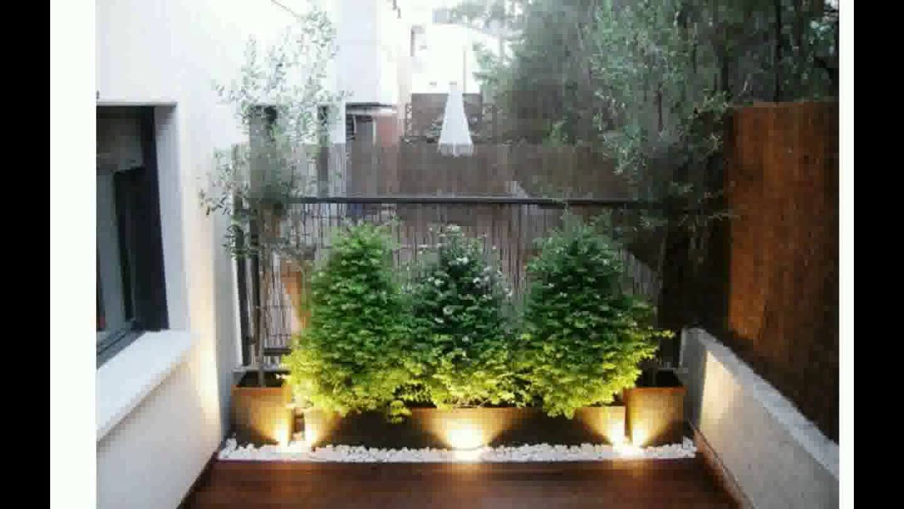 Como decorar terrazas youtube for Fotos de jardines exteriores