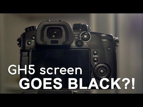 Screen goes black on Panasonic GH5