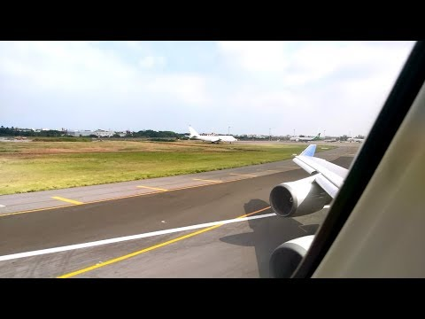 China Airlines B747-400 Takeoff from RCTP 23R