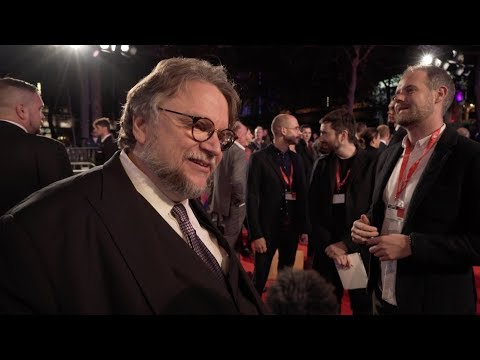 BFI America Airlines Gala: Guillermo del Toro, Richard Jenkins | The Shape of Water (The Fan Carpet)