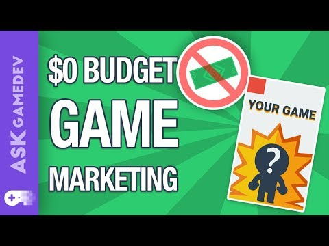 Indie Game Marketing With Zero Budget!
