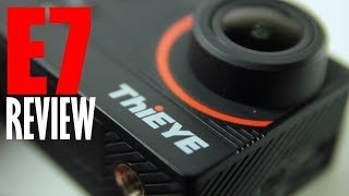 ThiEYE E7 4K Stabilized Action Camera Review