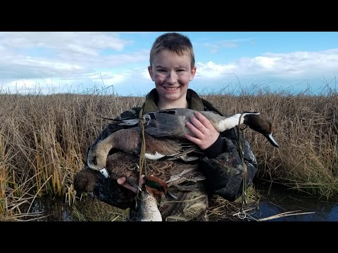 EPIC Junior Duck Hunt 2019 : My First Limit!