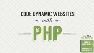 What Does PHP Do? [#3] Code Dynamic Websites with PHP