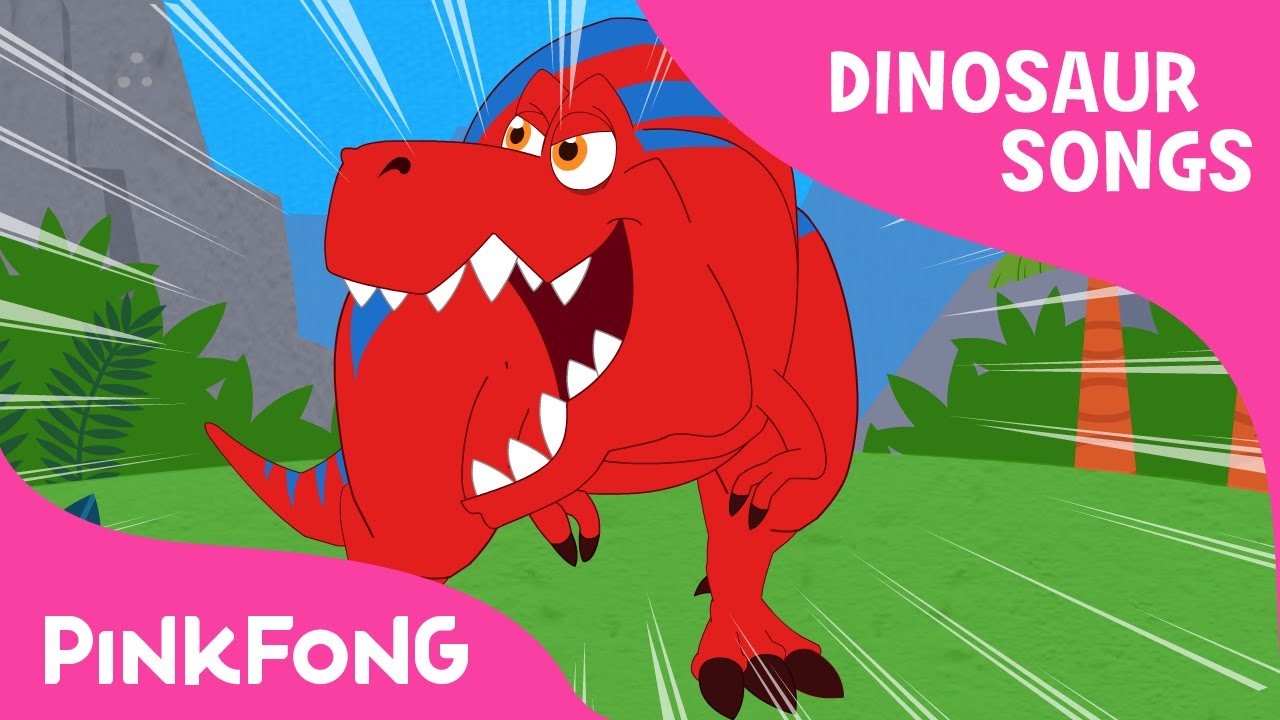 Dinosaur Song For Kids | Nursery Rhymes | Dinosaur Songs | PINKFONG Songs  For Children   YouTube