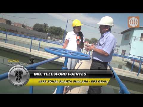 Informe Especial - Planta de tratamiento de agua potable Sullana