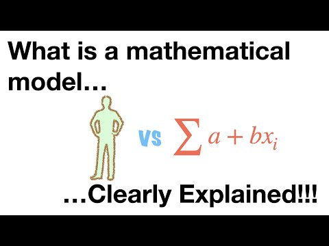 StatQuest: What is a statistical model?