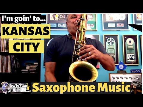 Kansas City Saxophone Music & Backing Track