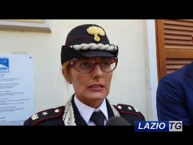LAZIO TG   SABAUDIA ATTO INTIMIDATORIO AL PARCO, TROVATE LE IMPRONTE