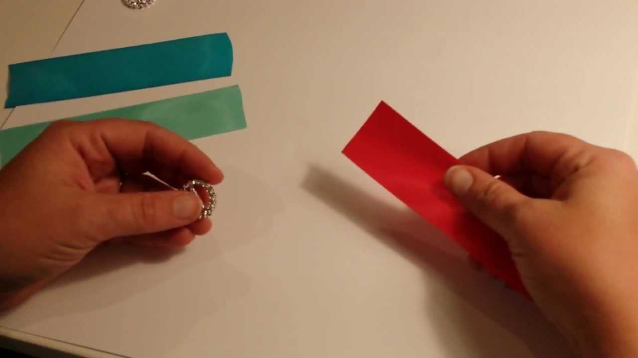Invite Bling: DIY Ribbon Buckle - YouTube