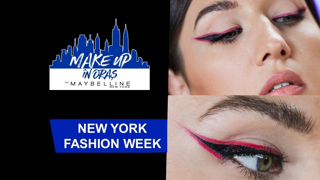 New York Fashion Week: grafic liner | Make up in Oras | Maybelline NY