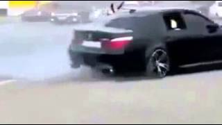 BMW Drift in Dubai | Arab Drifting with AK 47 | BMW Best Drift 2016