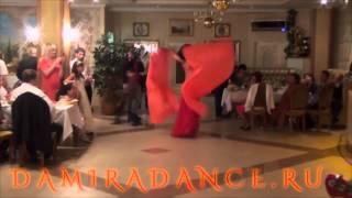Свадьба в Самаре-2016. Восточные танцы на праздник! Танец со змеей. Дамира.