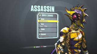 Borderlands 2 - Assassin Stinging Blade Pack (L0rd of BladesP0wer T00led)
