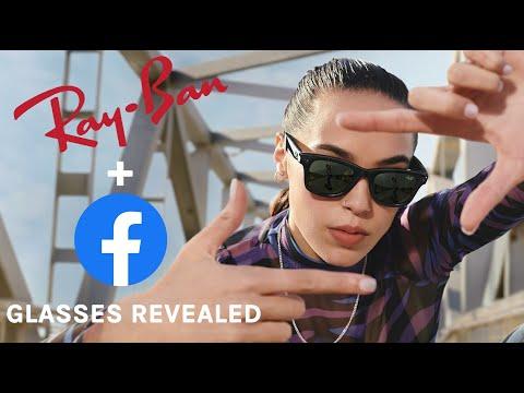 Facebook представили умные очки Ray-Ban Stories