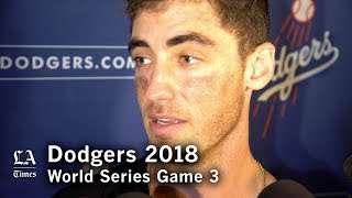 World Series 2018: Cody Bellinger on winning Game 3 of the World Series