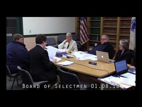 Board of Selectmen 01.08.18