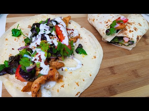 Chicken Shawarma Homemade | شوارمه