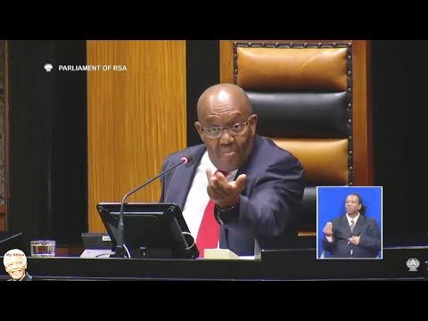 "Deputy Speaker ""You Are Out Of Order"""
