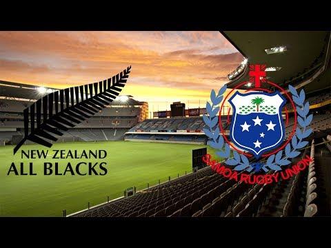 New Zealand vs Samoa - Rugby Challenge 3